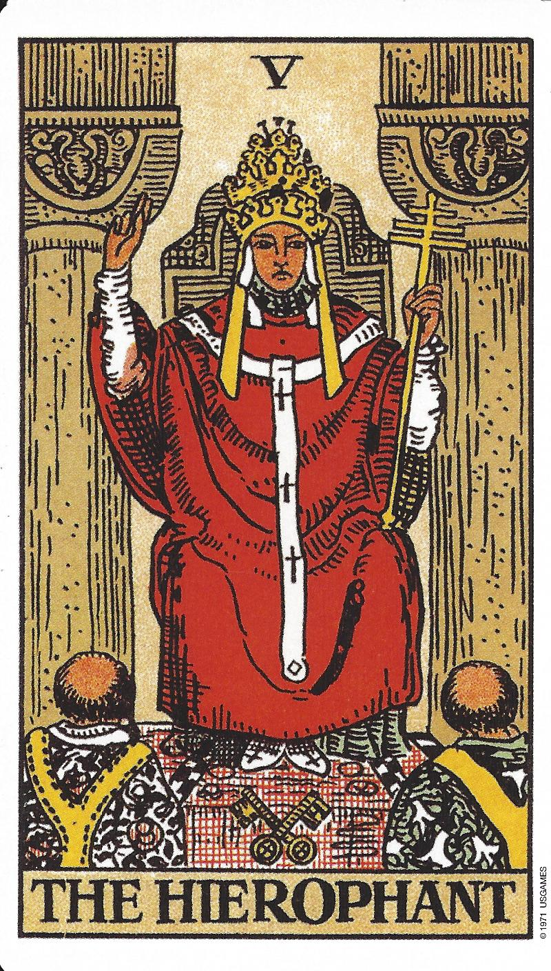 5-Unity / The Hierophant – The Angel Card Reader