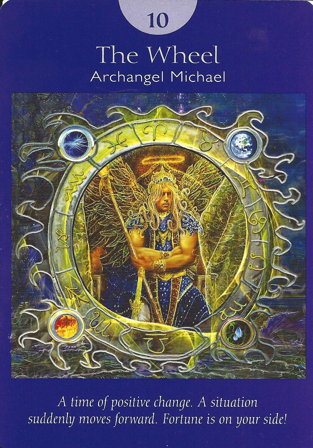 The Wheel Of Fortune Tarot Card Meaning In Readings The: The Angel Card Reader