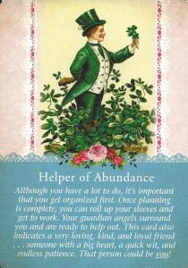 12 Helper of Abundance